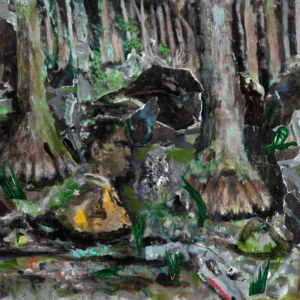 YUNGMORPHEUS ewonee Thumbing Thru Foliage