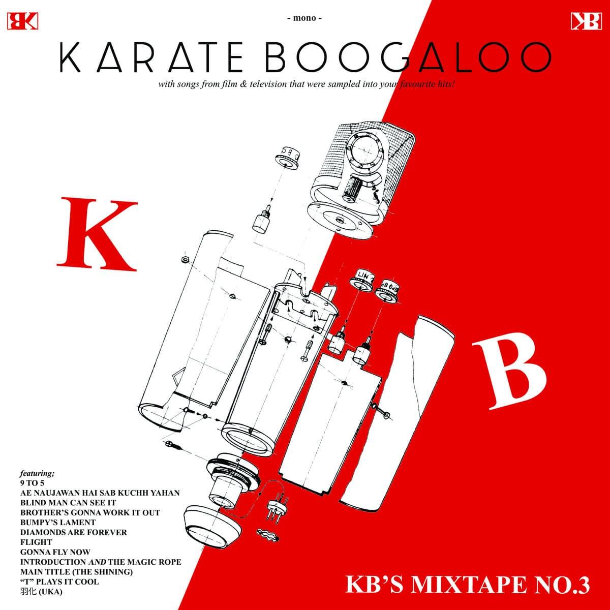 Karate Boogaloo - KB's Mixtape No. 3