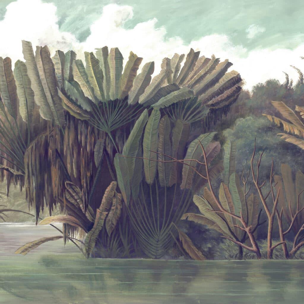 xique-xique na lagoa